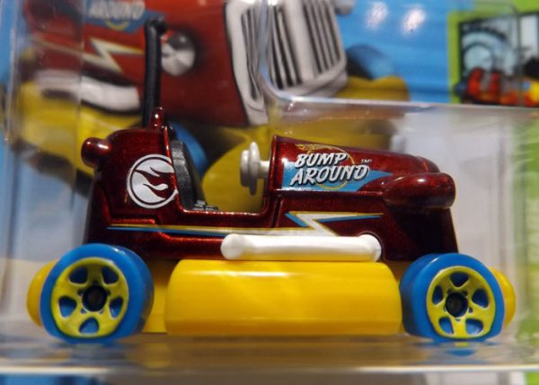 HOT WHEELS BUMP AROUND TREASURE HUNT 2018 ESCALA APROXIMADA 1/64.