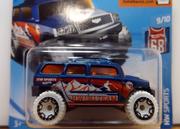 HOT WHEELS TREASURE HUNT ROCKSTER 2018. VISTA ZOOM.