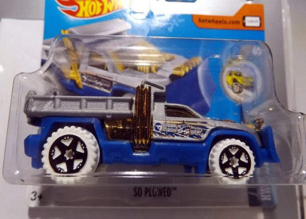 HOT WHEELS SO PLOWED TREASURE HUNT 2017