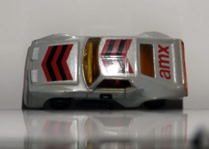 COCHE MATCHBOX MX-AMX-PRO-STOCKER DE 1983 A ESCALA 1/64. VISTA AEREA.