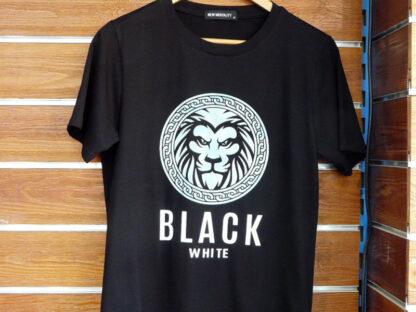 CAMISETA MC ALGODON BLACK-BLACK